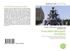 Bookcover of Louis-Albert Bourgault-Ducoudray