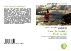 Copertina di Cloud Reflectivity Modification