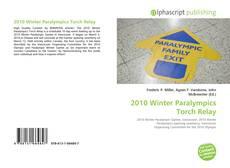 2010 Winter Paralympics Torch Relay kitap kapağı
