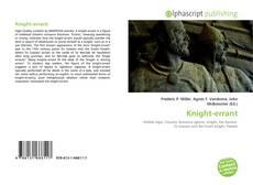 Couverture de Knight-errant