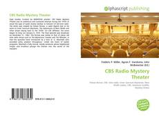 Bookcover of CBS Radio Mystery Theater