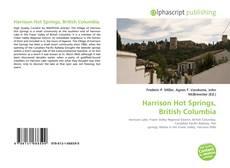 Harrison Hot Springs, British Columbia kitap kapağı