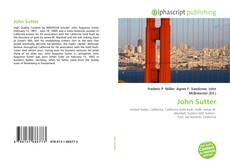 Buchcover von John Sutter