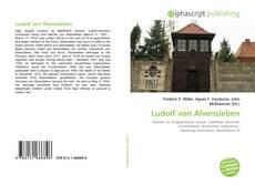 Capa do livro de Ludolf von Alvensleben