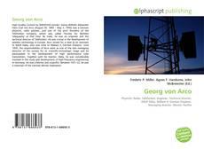 Georg von Arco kitap kapağı