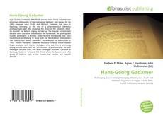 Bookcover of Hans-Georg Gadamer