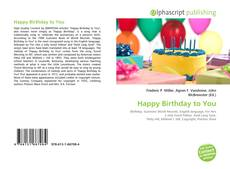 Bookcover of Happy Birthday to You