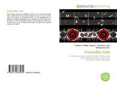 Buchcover von Crocodile Cafe