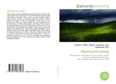Bookcover of Hurricane Lenny