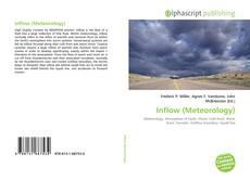 Capa do livro de Inflow (Meteorology)
