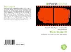 Major League II kitap kapağı