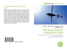 Capa do livro de 1983 British Airways Sikorsky S-61 Crash