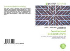 Couverture de Constitutional Democratic Party