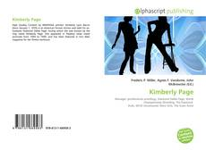 Bookcover of Kimberly Page