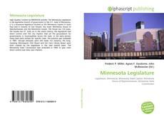 Bookcover of Minnesota Legislature