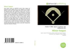Bookcover of Minor league