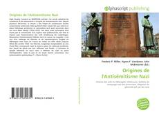 Buchcover von Origines de l'Antisémitisme Nazi