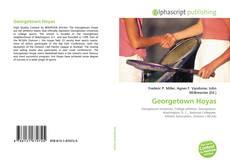 Capa do livro de Georgetown Hoyas