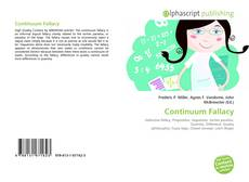 Bookcover of Continuum Fallacy