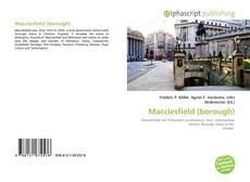 Bookcover of Macclesfield (borough)