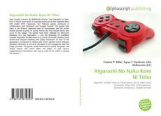 Capa do livro de Higurashi No Naku Koro Ni Titles