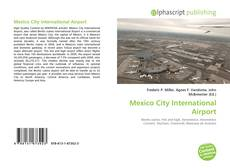 Mexico City International Airport kitap kapağı