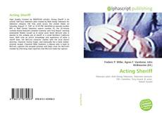 Bookcover of Acting Sheriff