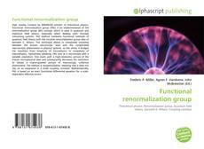 Portada del libro de Functional renormalization group
