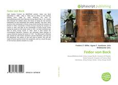 Bookcover of Fedor von Bock