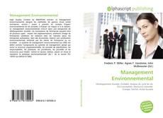 Portada del libro de Management Environnemental