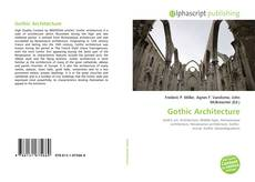 Couverture de Gothic Architecture