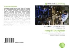 Bookcover of Joseph Schumpeter