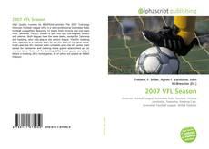 Portada del libro de 2007 VFL Season
