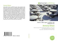 Bookcover of Armory Show