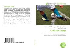 Bookcover of Christian Ziege