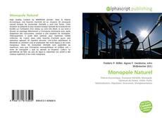 Bookcover of Monopole Naturel
