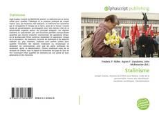 Capa do livro de Stalinisme
