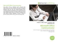 Couverture de Microsoft Office Communicator