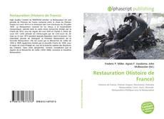 Bookcover of Restauration (Histoire de France)