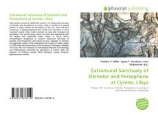 Buchcover von Extramural Sanctuary of Demeter and Persephone at Cyrene, Libya