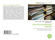 Capa do livro de Document Exploitation (DOCEX)