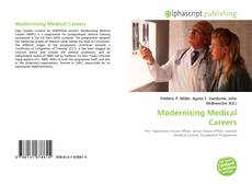 Bookcover of Modernising Medical Careers