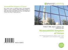 Couverture de Mutawakkilite Kingdom of Yemen