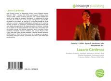 Portada del libro de Lázaro Cárdenas
