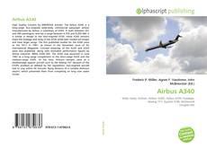 Capa do livro de Airbus A340