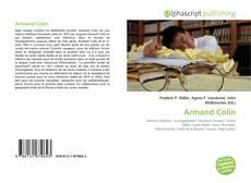 Bookcover of Armand Colin
