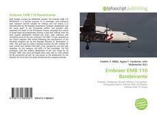 Bookcover of Embraer EMB 110 Bandeirante