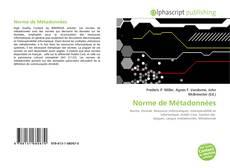 Capa do livro de Norme de Métadonnées