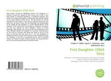 Capa do livro de First Daughter (2004 film)
