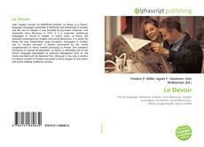 Bookcover of Le Devoir